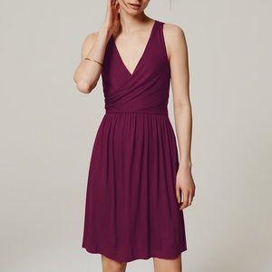 LOFT Cross Front Dress